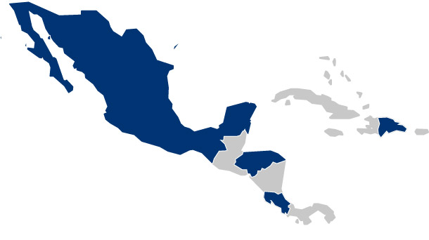 Where we work / Central America - BES Group